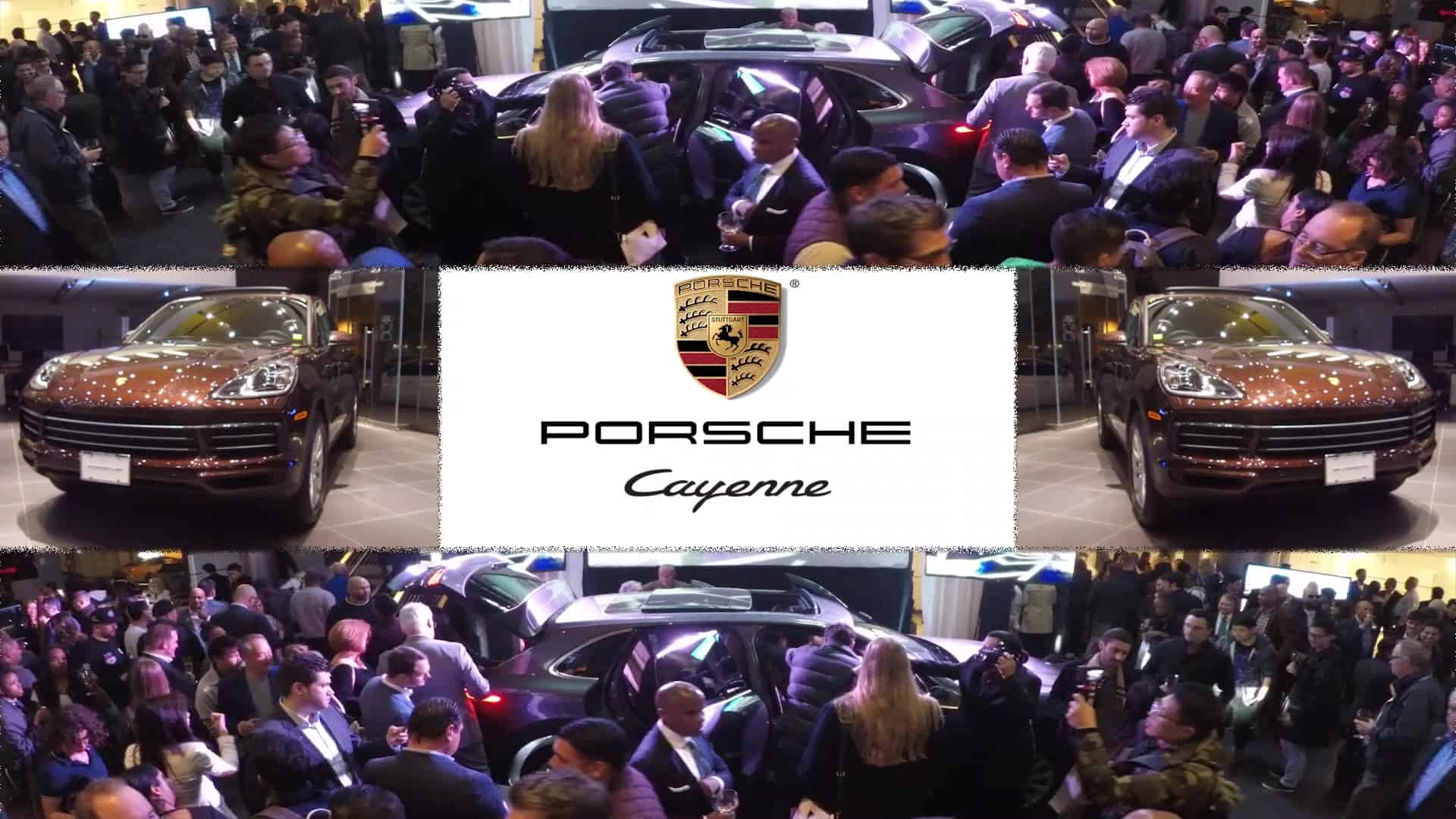 2019 Porsche Cayenne Launch Event ~ NYC